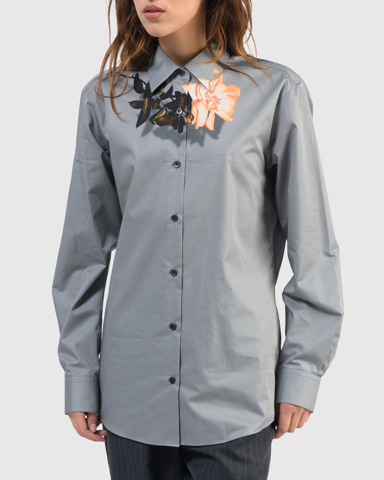 Clavelly Shirt in Grey