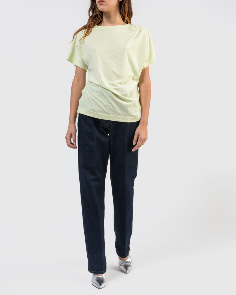 Hearl Jersey T-Shirt in Pyel by Dries Van Noten Woman at Mohawk General Store