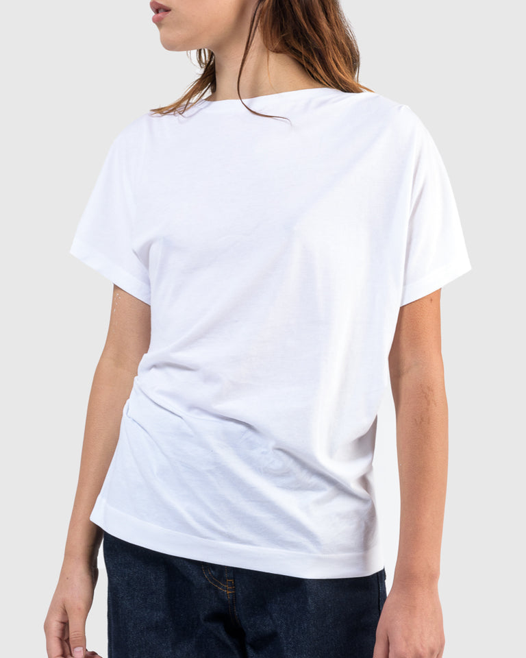 Hearl Jersey T-Shirt in White