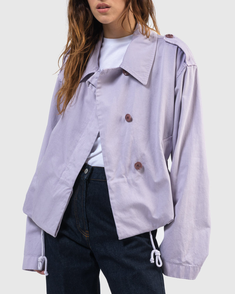 Verse Bis Jacket in Lilac