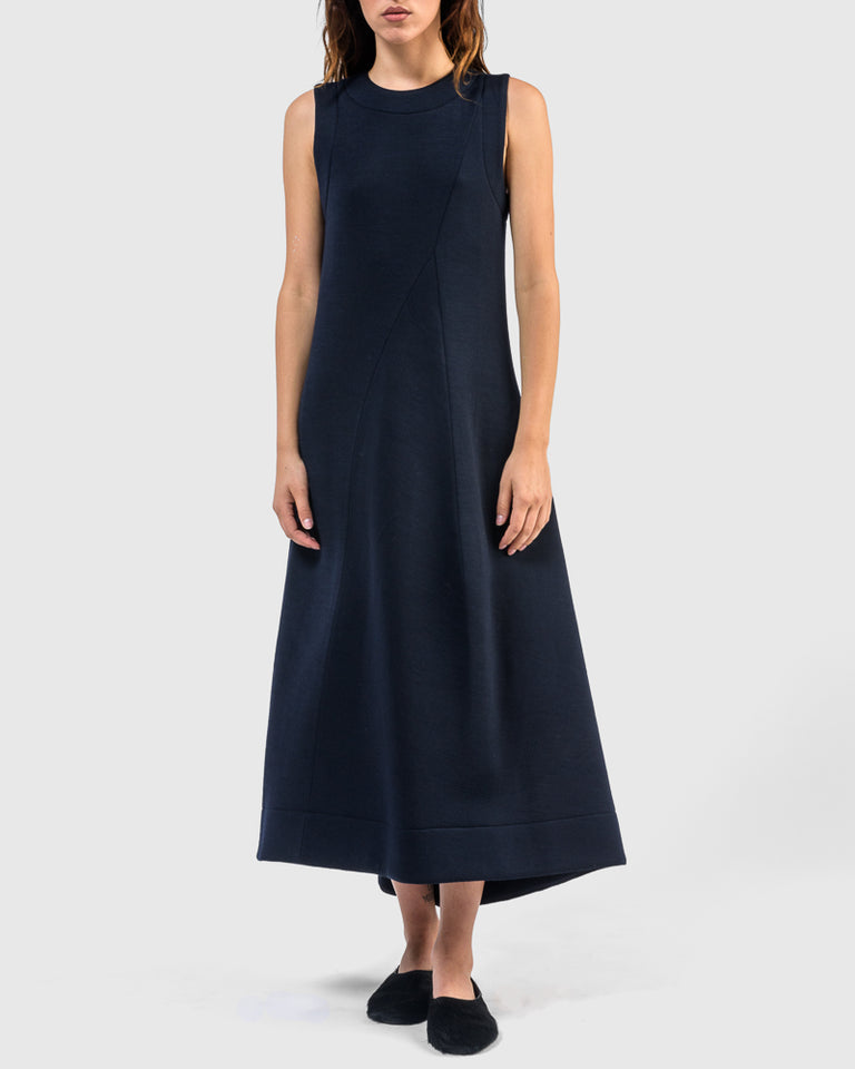 Dress in Dark Blue