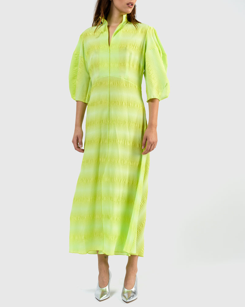 Amplus Dress in Neon Yellow by Rachel Comey at Mohawk General Store