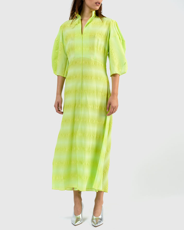 Amplus Dress in Neon Yellow