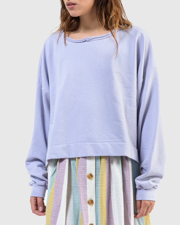 Mingle Sweatshirt in Lilac