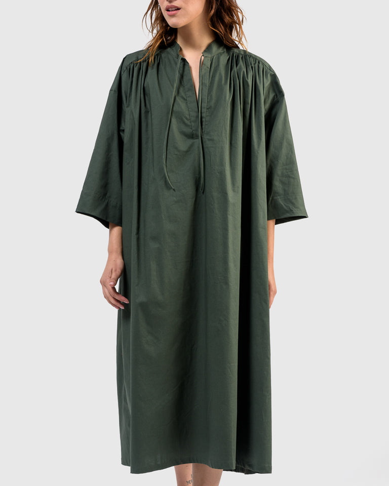 Shima Caftan in Green