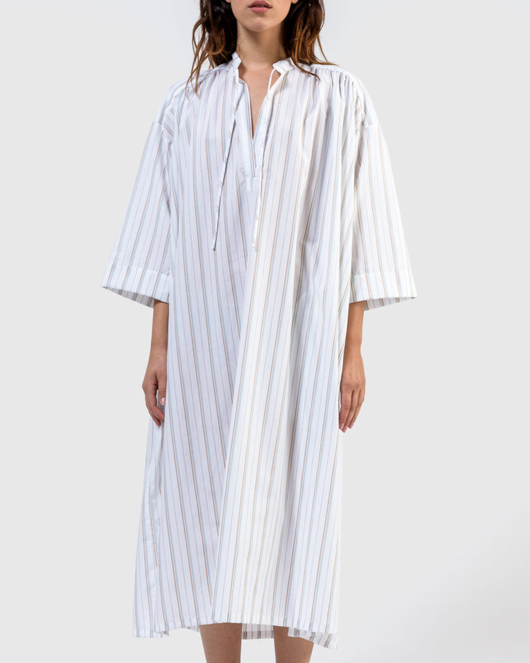 Shima Caftan in Stripe