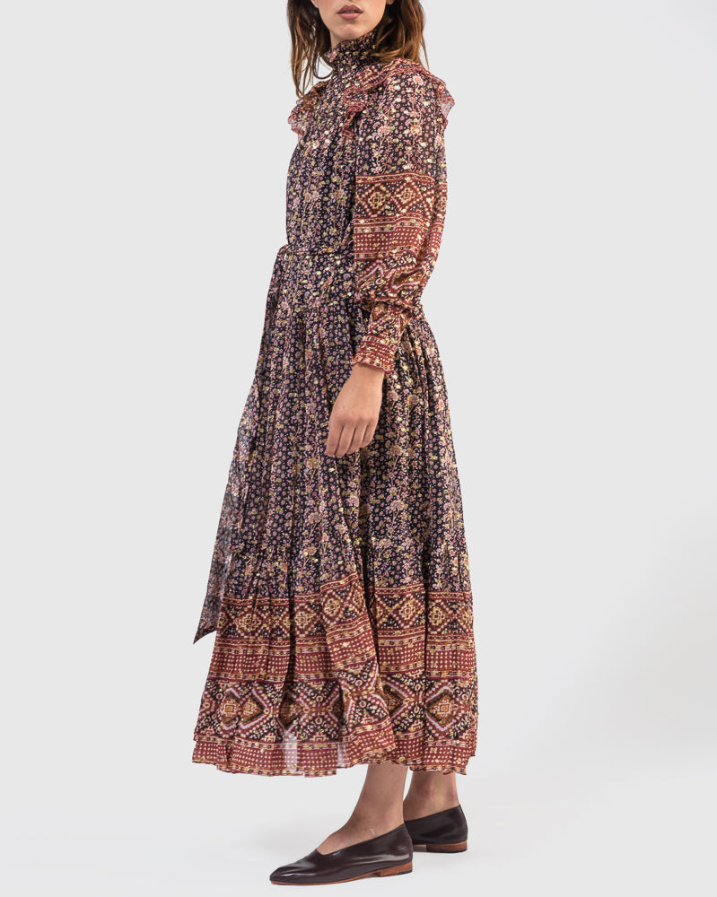 Constantine Dress in Midnight by Ulla Johnson at Mohawk General Store