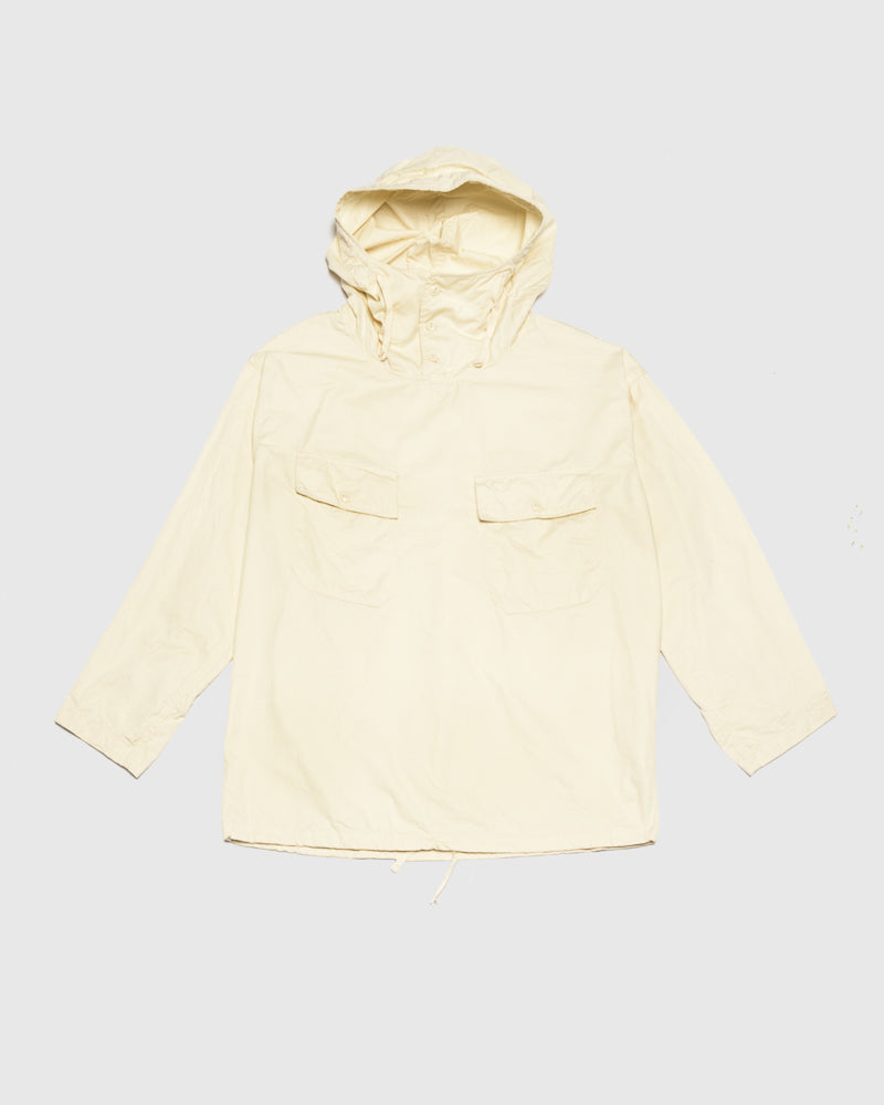 Cagoule Shirt in Ivory by Engineered Garments at Mohawk General Store