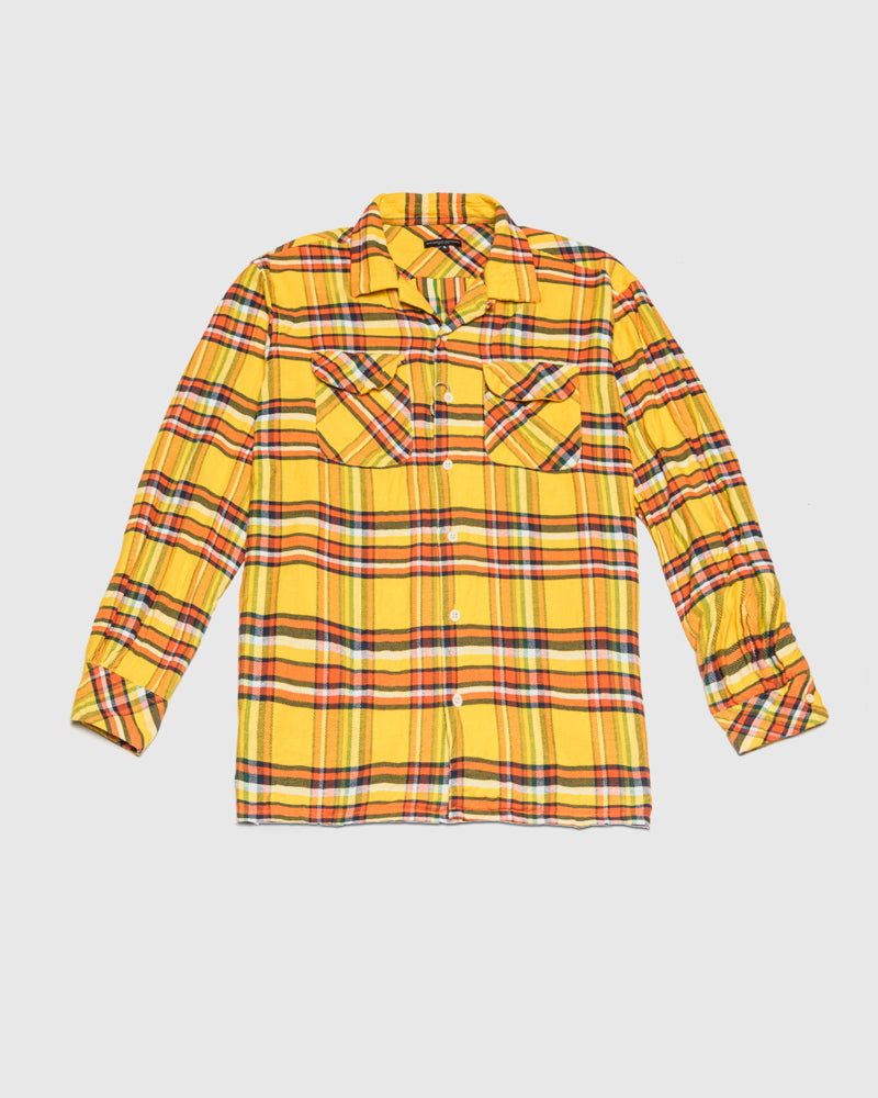 Classic Shirt in Yellow by Engineered Garments at Mohawk General Store