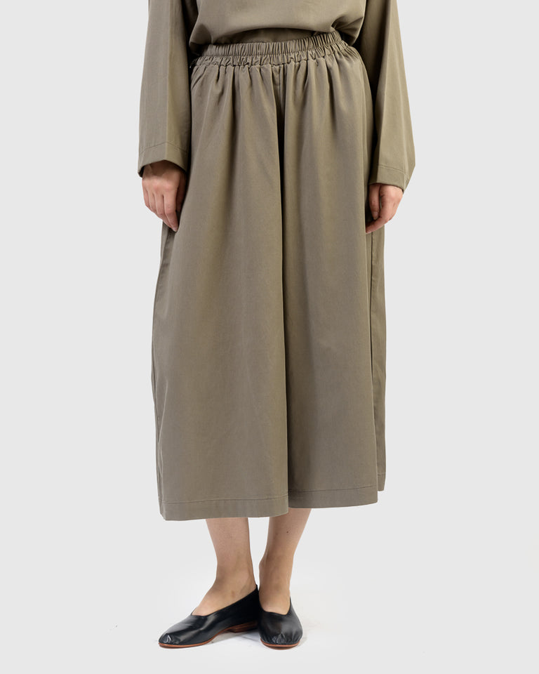 Wide Culottes in Ash