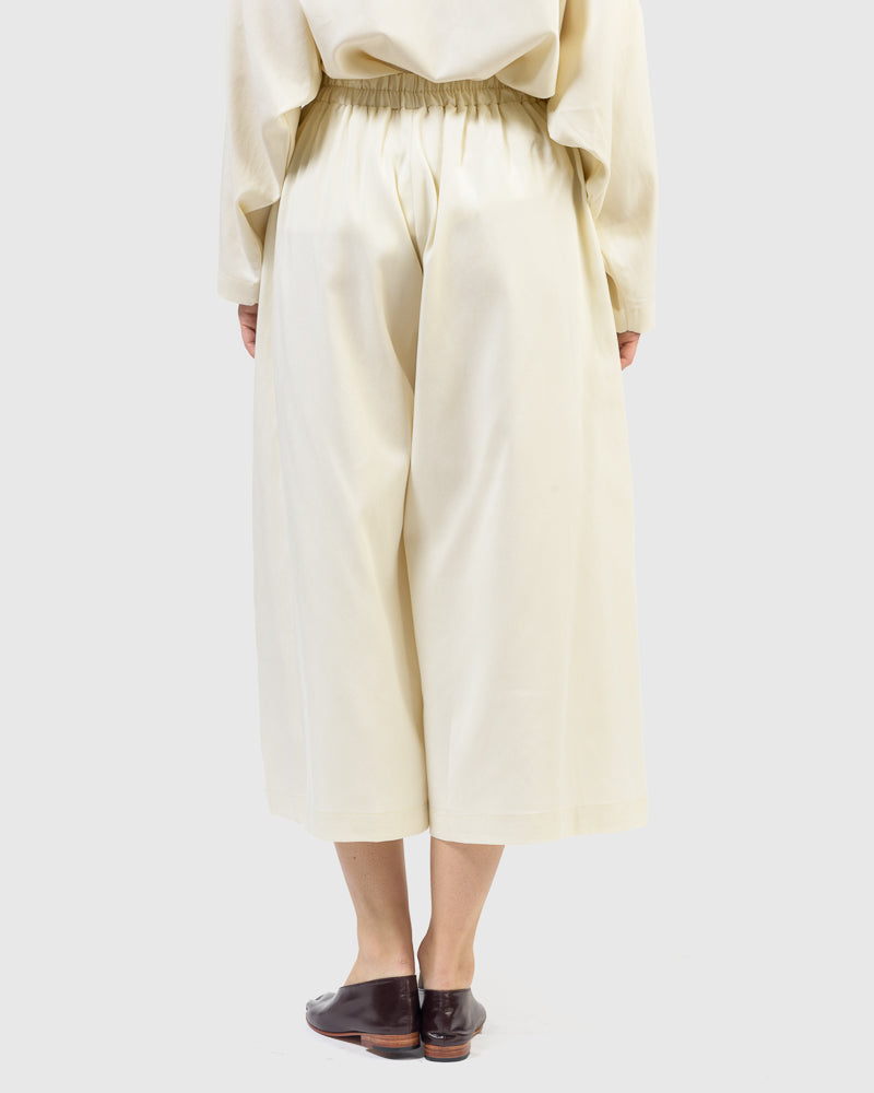 Wide Culottes in Cream