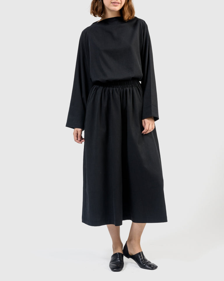 Wide Culottes in Midnight