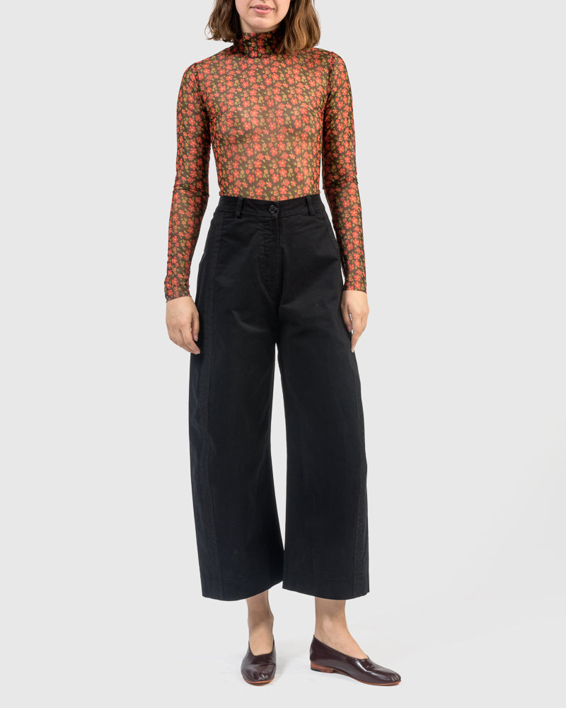 Bean Pants in Black by Henrik Vibskov at Mohawk General Store