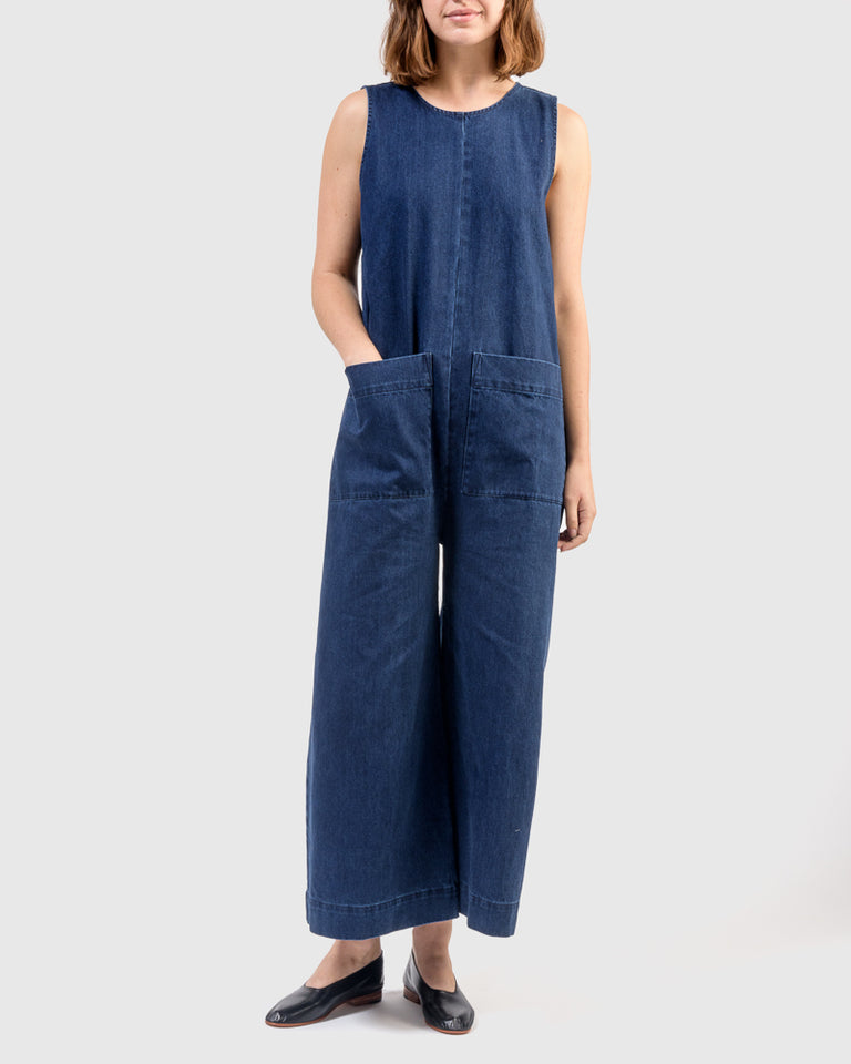 Harry Jumpsuit in Denim