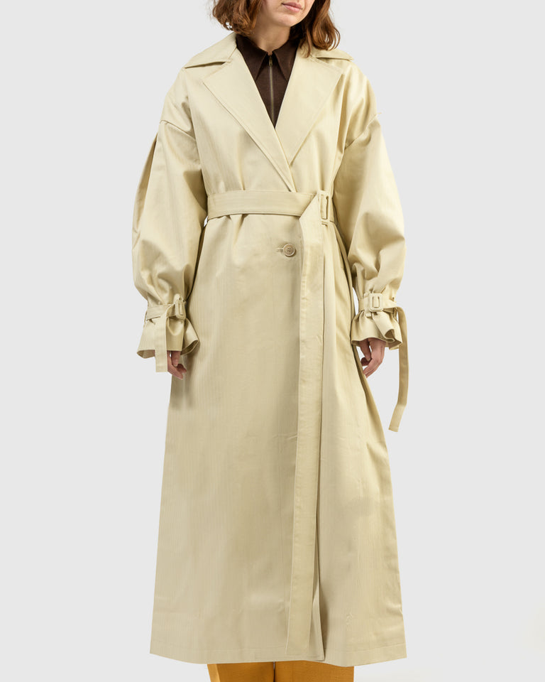 Le Manteau Arles in Beige
