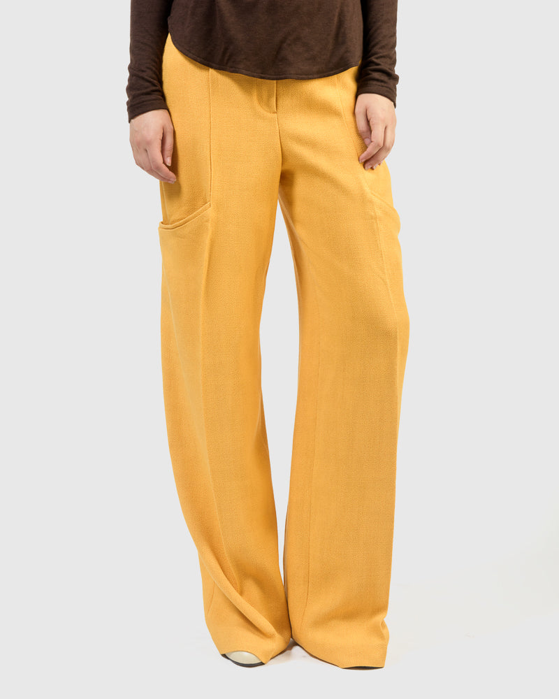 Le Pantalon Moyo in Orange