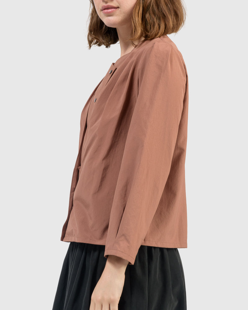 Cleo Top in Terracotta by Jeana Sohn at Mohawk General Store