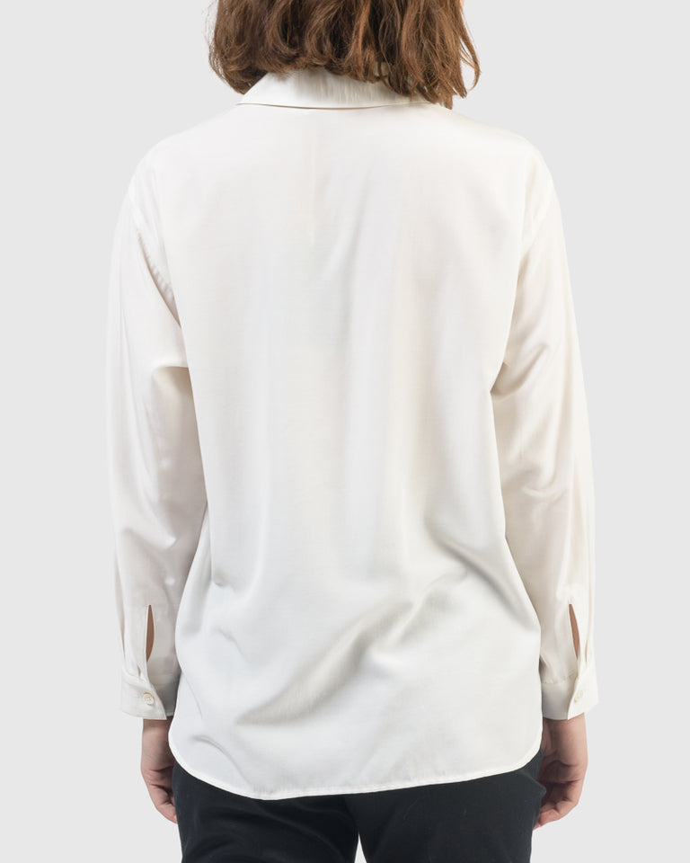 Henry Blouse in Off White