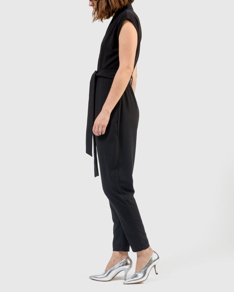 Yuri Jumpsuit in Black