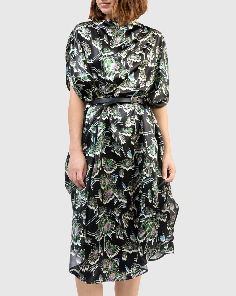 Dress in Black Floral by MM6 Maison Margiela at Mohawk General Store