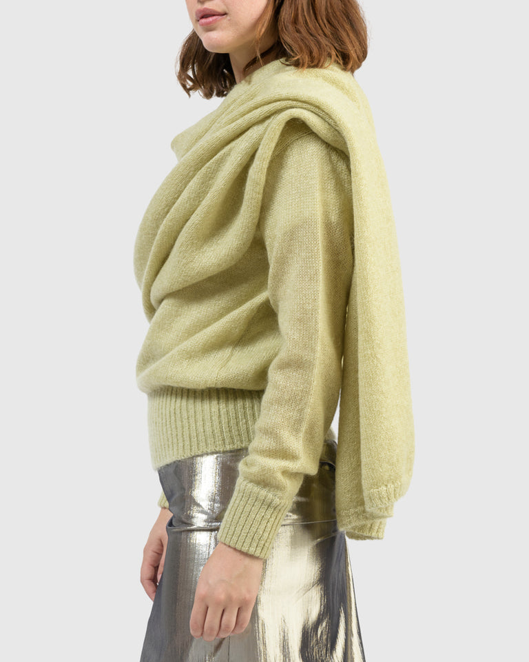 Colette Sweater in Pistachio