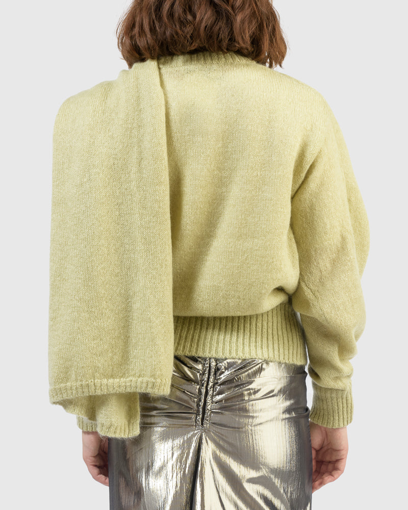 Colette Sweater in Pistachio by Rejina Pyo at Mohawk General Store
