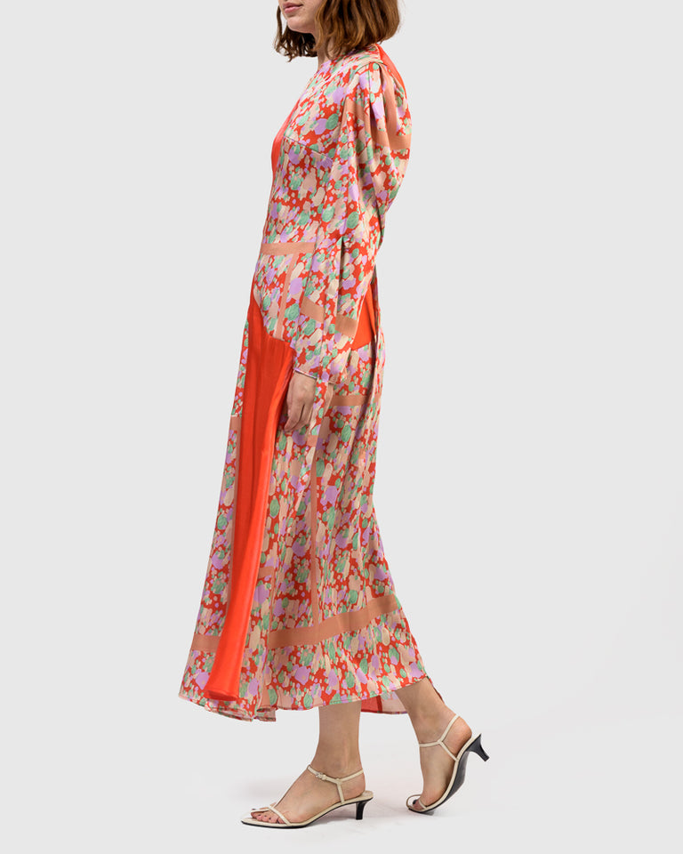 Tanika Dress in Print Mix