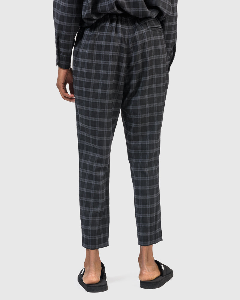 Bravo Pants in Check by BASISBROEK at Mohawk General Store