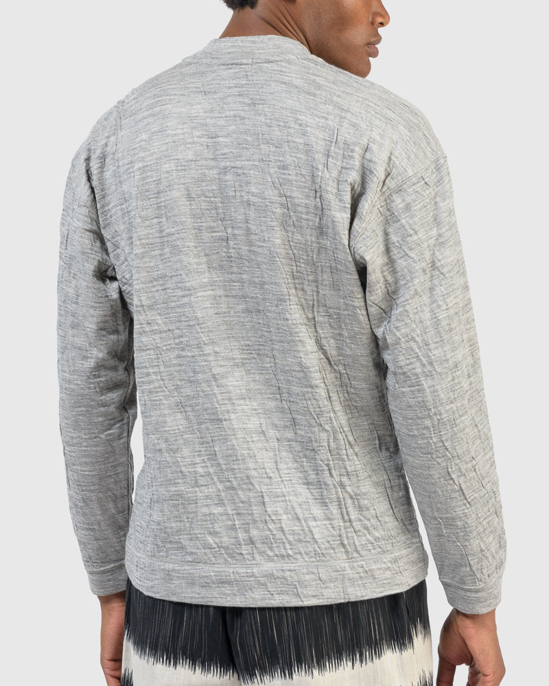 Yoroke Bias Jersey in Grey