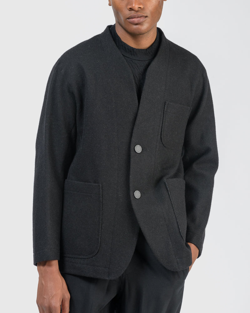 Wool Shigoki in Black