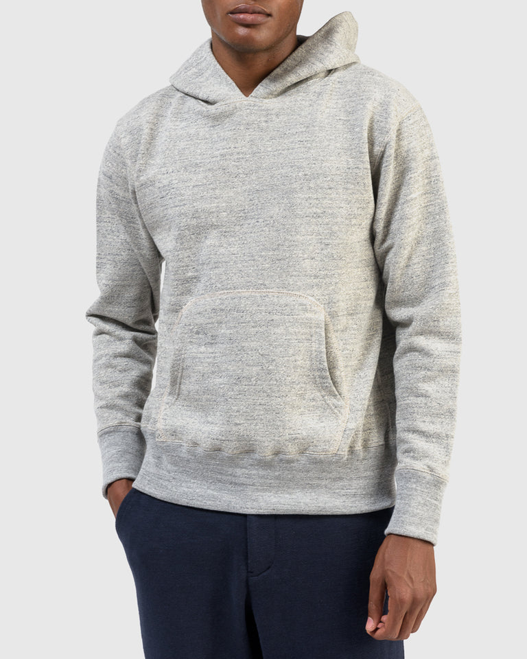 GG Sweat Pullover Parka in Heather Grey
