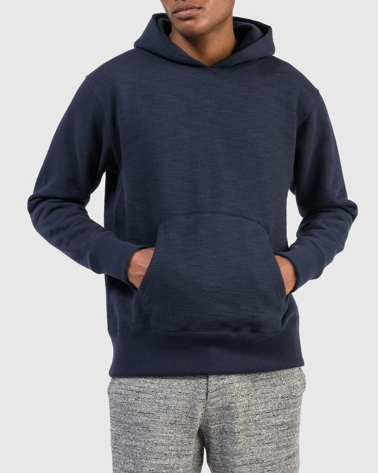 GG Sweat Pullover Parka in Navy