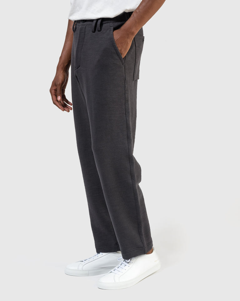 GG Sweat Trousers in Off Black
