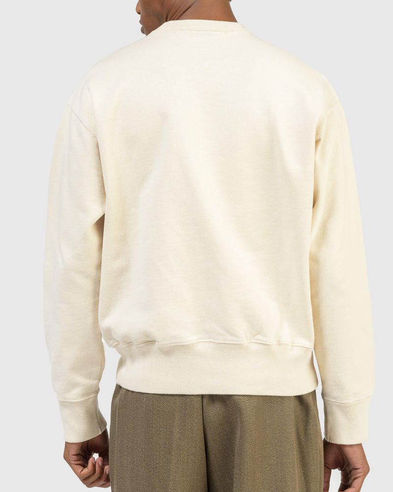 Base Sweat in Cream by Our Legacy at Mohawk General Store