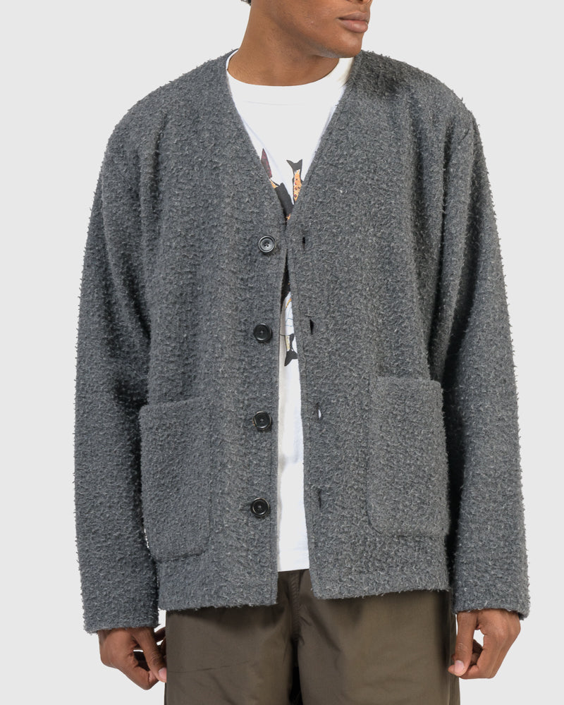 Cardigan Shaggy in Grey by Our Legacy at Mohawk General Store