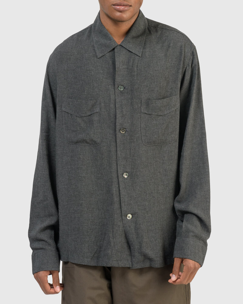 Heusen Shirt in Anthracite
