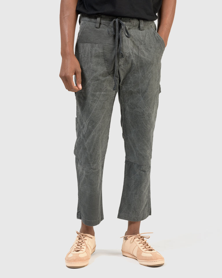 Carpenters Patch Pant in Charcoal