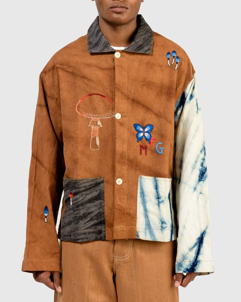 Short On Time Jacket in Mush Hand Embroidery
