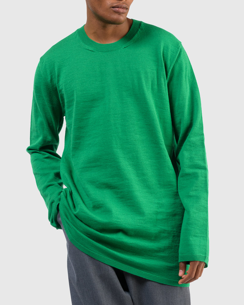 Pullover Sweater in Green