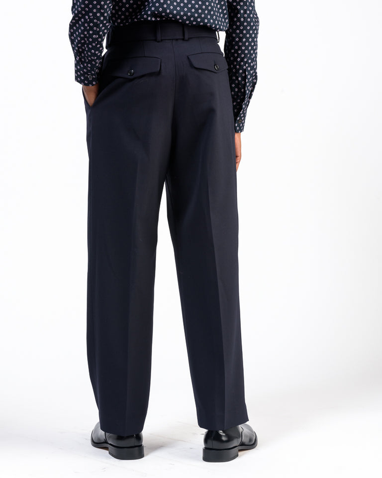 Phoenix Bis Pants in Navy