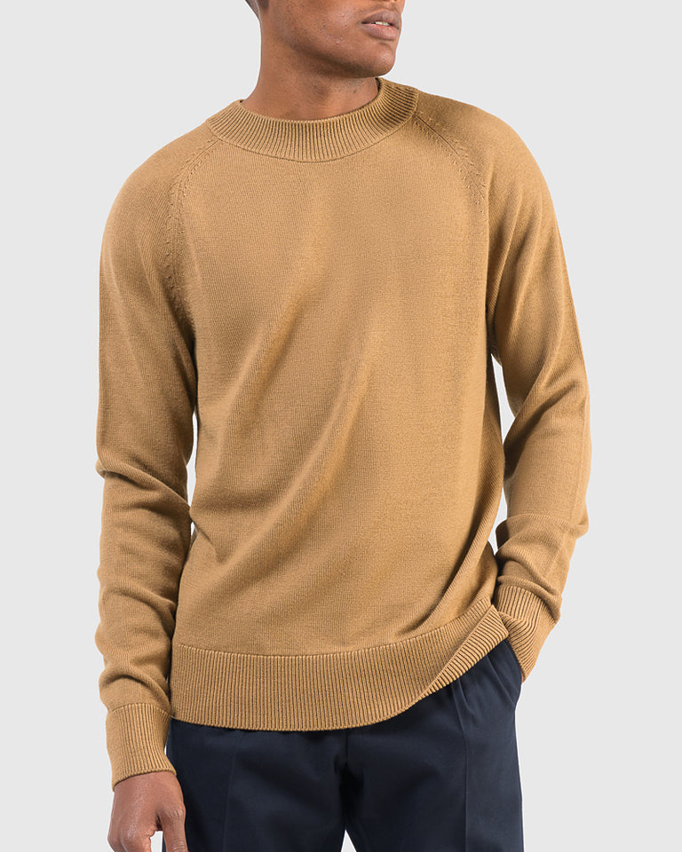 Teofil Sweater in Camel