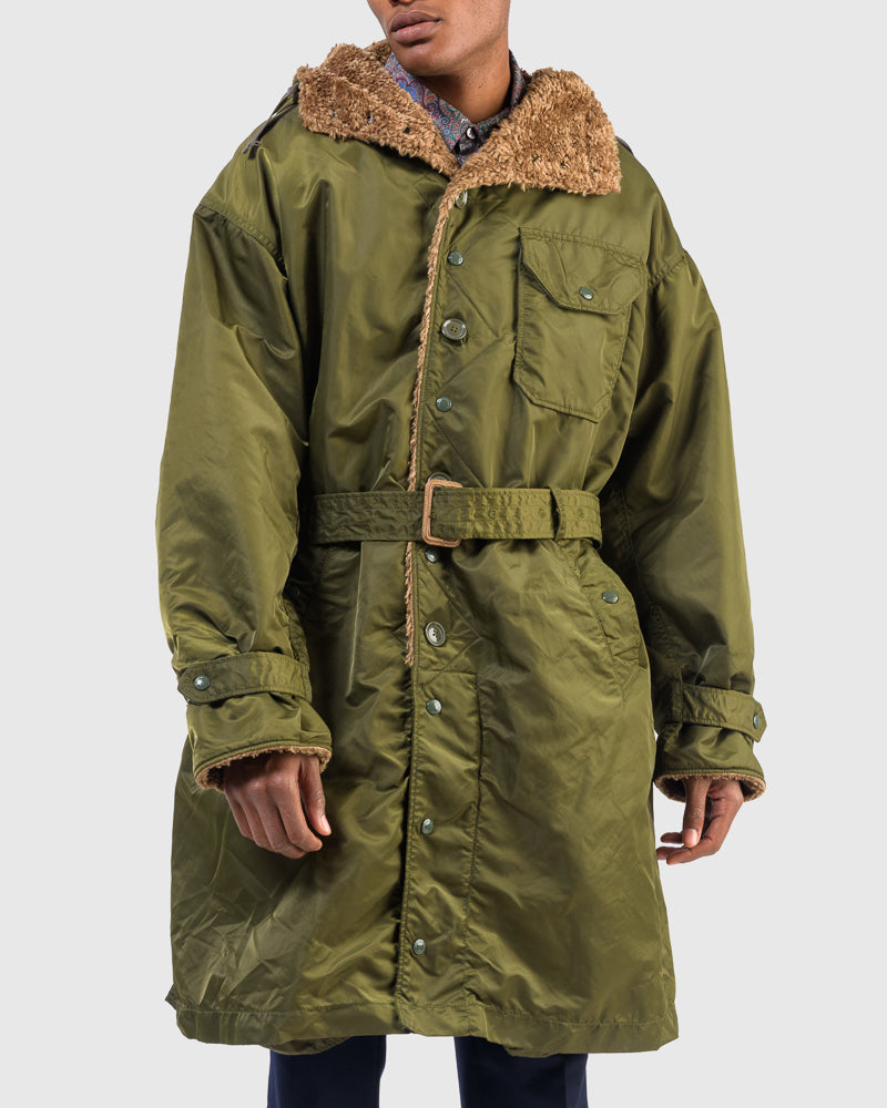 Coastline Parka in Olive