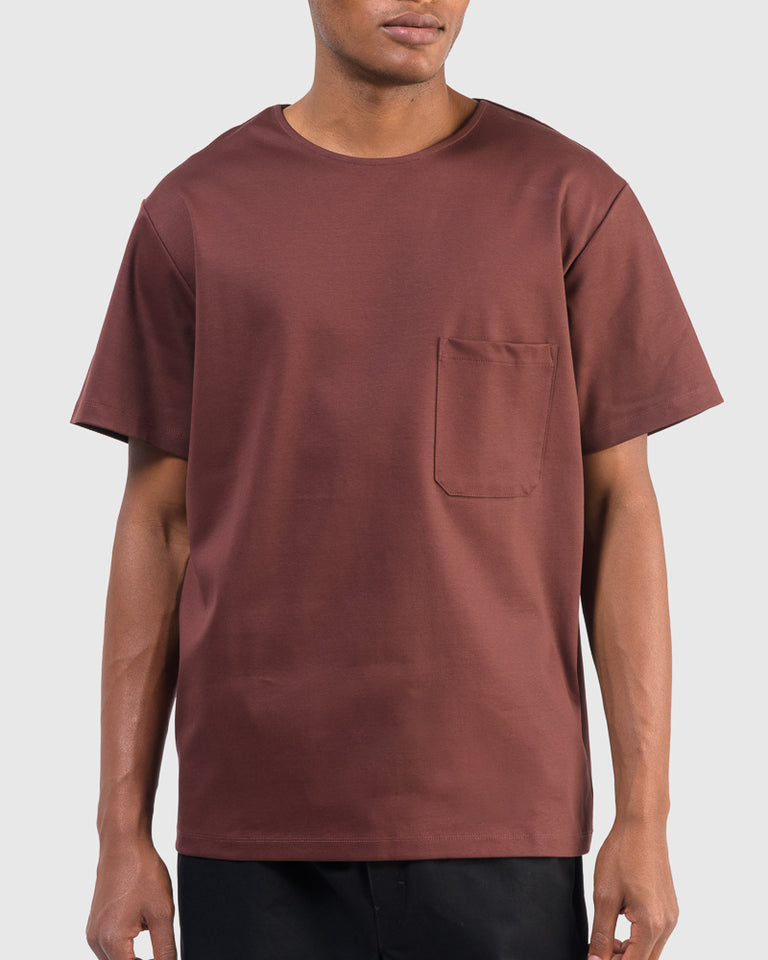 T-Shirt in Bitter Chocolate