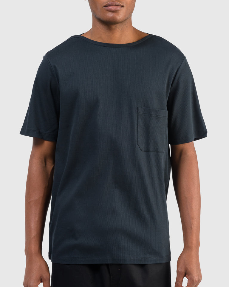 T-Shirt in Midnight Blue
