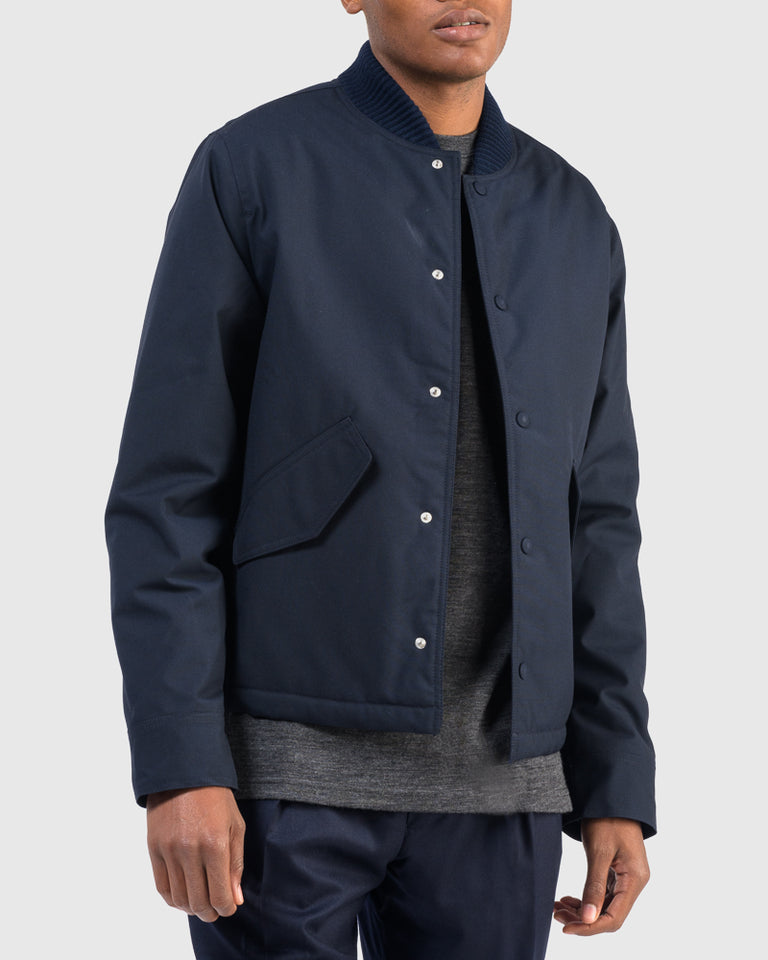 Mathis Jacket in Navy