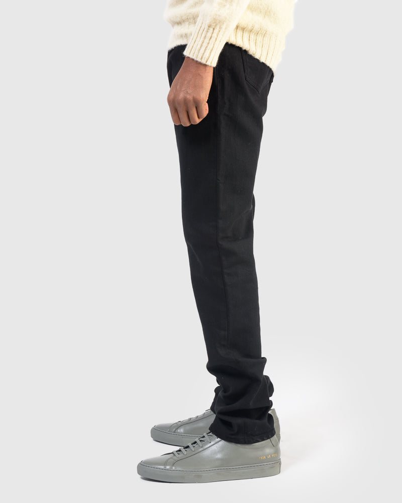 Alexander Stretch Denim in Black
