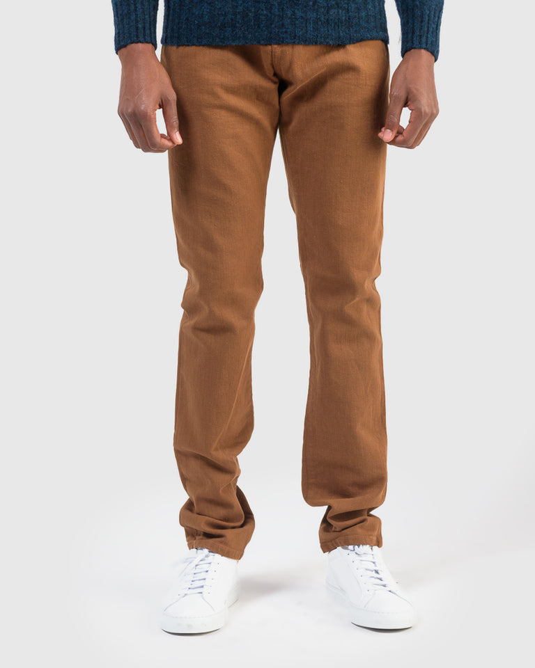 Alexander Stretch Denim in Whiskey