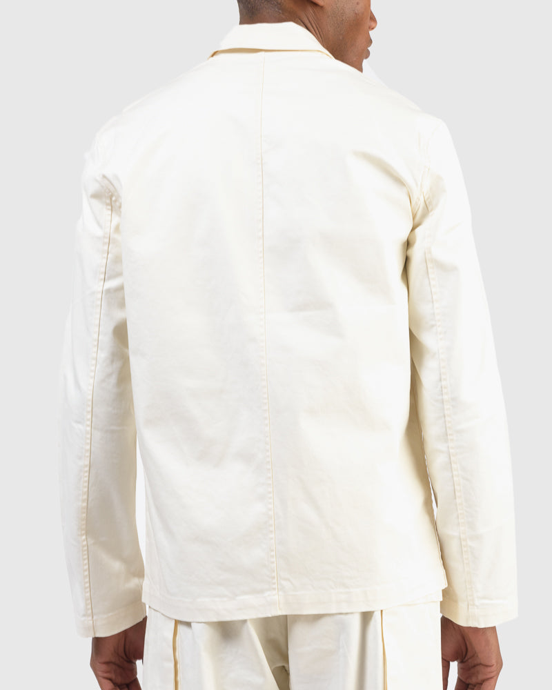 Hunter Drill Jacket in Natural