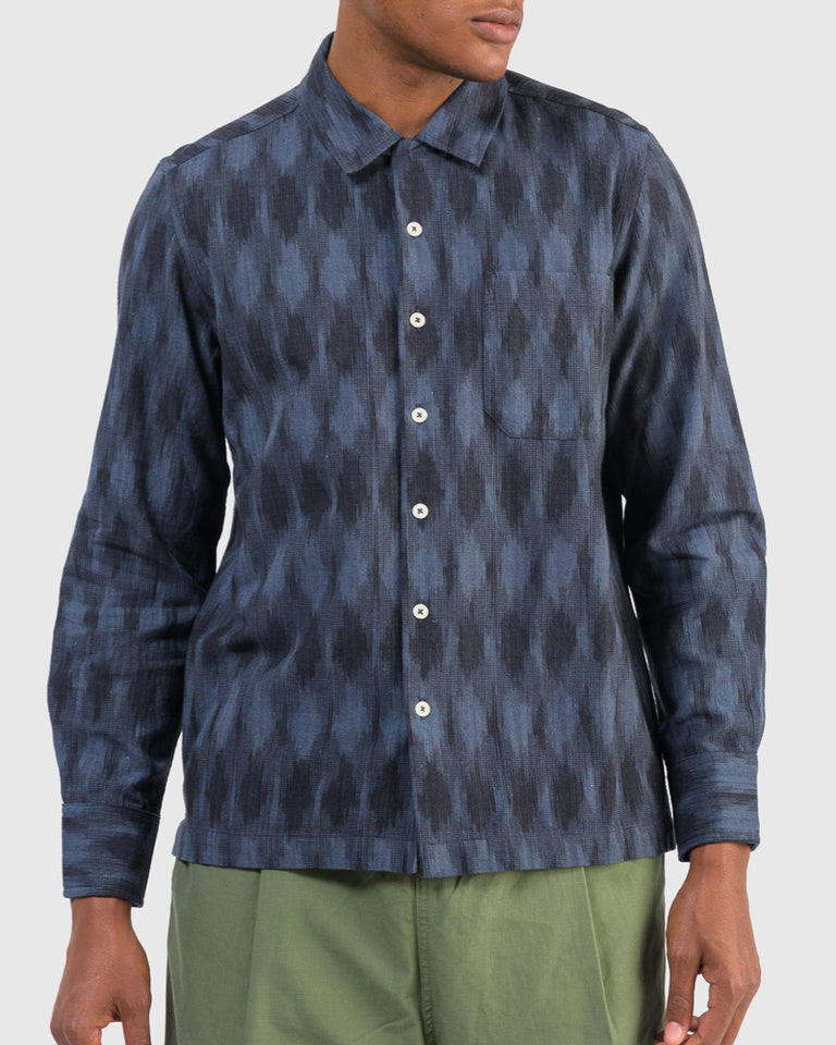 Garage Shirt in Indigo
