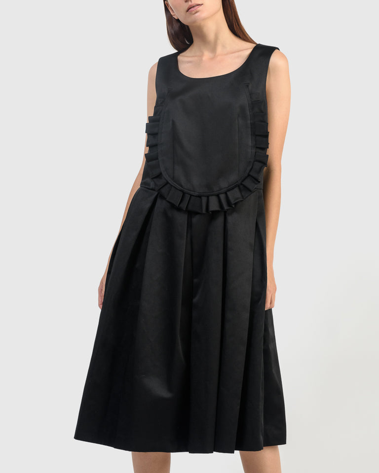 A003 Jumper Dress in Black
